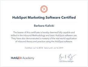 HubSpotMarketingCertification